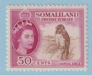 SOMALILAND PROTECTORATE 134  MINT HINGED OG * NO FAULTS EXTRA FINE !