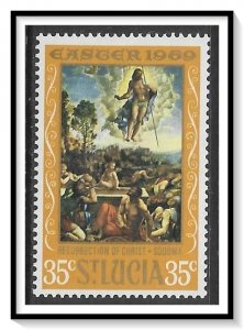 St Lucia #248 Easter Paintings MNH
