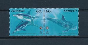 [53162] Kiribati 1998 Marine life Dolphins Unesco from set MNH