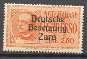German Occupation Zara, Mi.22, MNH,