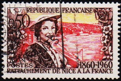 France.1960 50c S.G.1477 Fine Used