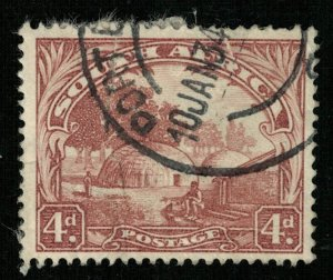 1930-1945, South Africa, Country name in English or Afrikaans, 4d  (RT-217)