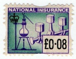 (I.B) Elizabeth II Revenue : National Insurance 8p