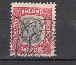J26388  jlstamps 1907-8 iceland used #o36 kings