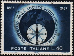 Italy. 1967 40L S.G.1171 Fine Used