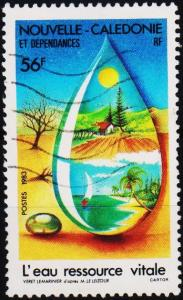 New Caledonia. 1983 56f S.G.717 Fine Used