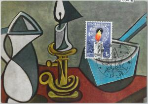 63416 -  BELGIUM - POSTAL HISTORY: MAXIMUM CARD 1968 -  ART Christmas