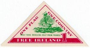 (I.B) Ireland Political : One Flag, One Country (Wolf Tone)