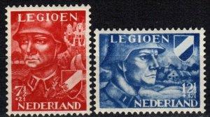 Netherlands #B144-5 MNH  CV $6.25 (X7110)