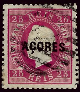 Azores SC#10 Used VF hr...Worth a Close Look!