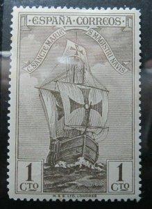 Spanien Espagne España Spain 1930 1c fine MH* stamp A4P14F483