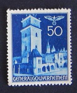 Postage stamp, Germany, №8-(11G-4IR)