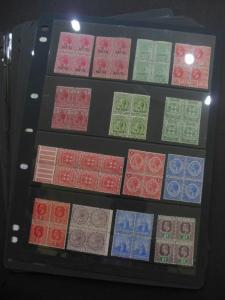 WORLDWIDE : Varied lot of mostly VF MNH sets & S/S on Display Pages. Interesting