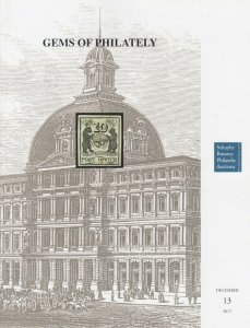Germs of Philately. Rare stamps and covers. Dec 2017 Schuyler Rumsey Auction