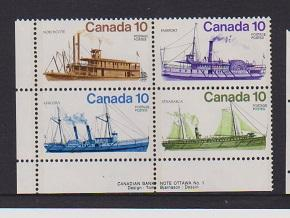 CANADA PLATE BLOCK MNH STAMPS #703a LOT#PB541