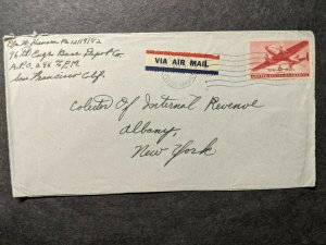 APO 246 GUAM, MARIANNAS ISLANDS 1946 Army Cover 96th ENGR Base Soldier's Mail