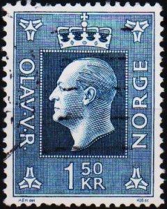 Norway. 1969 1k50 S.G.633  Fine Used