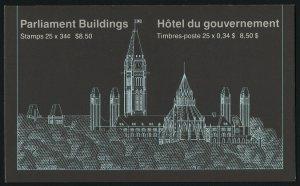 Canada 925c Booklet BK89A MNH Parliament Buildings