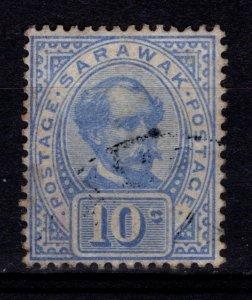 Sarawak 1899 Sir Charles Brooke 10c [Used]