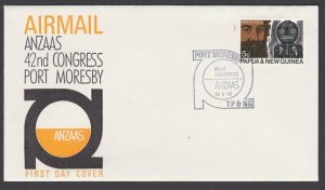 PAPUA NEW GUINEA 1970 Port Moresby ANZAAS Congress cover / cancel...........L584