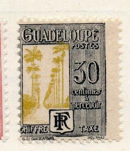 Guadeloupe 1935 Early Issue Fine Mint Hinged 30c. 109625