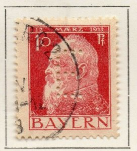 Bayern Bavaria 1912 Early Issue Fine Used 10pf. NW-120692
