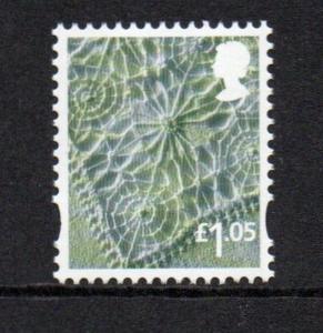 Great Britain Northern Ireland 43 2016 £1.05 linen stamp mint NH