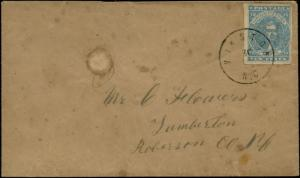 CSA #2 ON COVER WITH BLACK TOWN CANCEL CV $300.00 BP7029