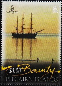 Pitcairn Islands. 2012 $1 Fine Used