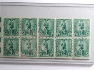 SCOTT # WS8B  25 CENT WAR SAVINGS PANE STAMPS GEM MINT NEVER HINGED ONE DAY SALE
