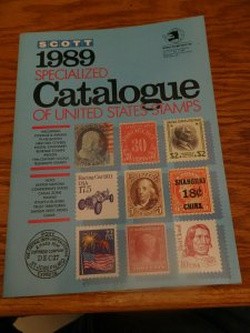 Scott 1989 Specialized Catalogue Of U.S. Stamps
