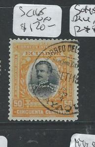 ECUADOR (P1906B)  SC165 CDS VFU SCARCE