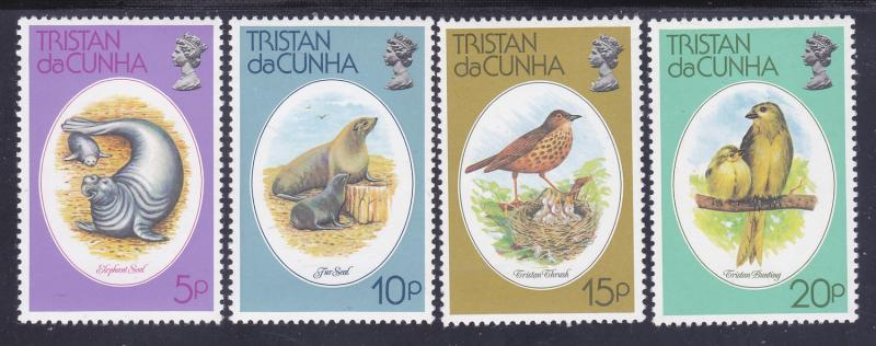 Tristain Da Cunha 251-54 MNH 1979 Fur Seals Complete Set Very Fine