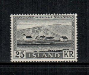 Iceland  305  MNH cat $  25.00