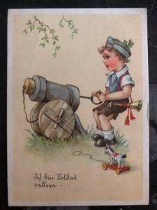 1941 Munich Germany Picture Patriotic Postcard Cover To Vienna