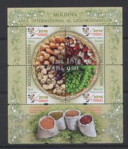 Moldova 2016 UN International Year of pulses 4 MNH stamps