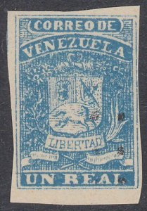 VENEZUELA  An old forgery of a classic stamp.............................D487