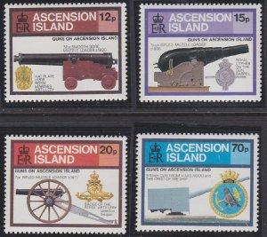 Ascension 368-371 MNH (1985)