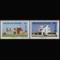 TURKISH-CYPRUS 1987 - Scott# 204-5 Europa Set of 2 NH