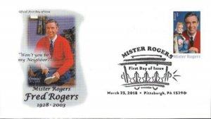 Goodman's Art Cachet 5275 Mister Rogers Fred Rogers Trolley CXL My Neighborl