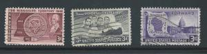 #955-956-957 Used 10 Cent lot.