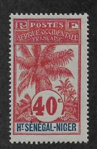 Upper Senegal & Niger 1906 40c Scott # 11,VF-XF MLH*OG (SP-3)