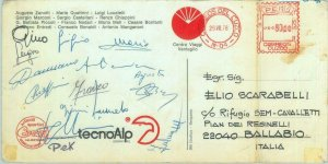 84853 - MOUNTAINEERING - Postal History: signed  ITALIAN EXPEDITION to PERU 1974