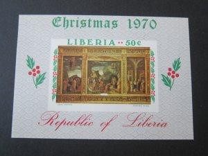 Libya 1970 Sc 540 Christmas Religion set MNH