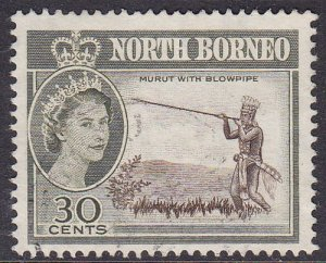 Malaya (North Borneo) 1961 SG399 Used
