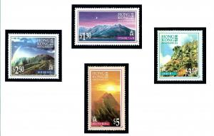 Hong Kong 752-55 MNH 1996 Mountains in Hong Kong