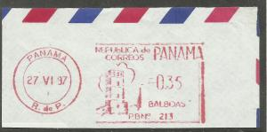 Panama City postmark on piece
