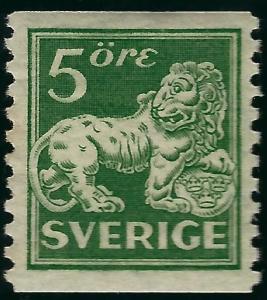 Sweden SC #116 Mint F-VF SCV $3.25... Fill a Value spot!