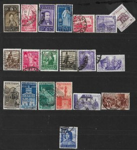 COLLECTION LOT OF # 840  ITALY 20 STAMPS 1937+ CV+$20