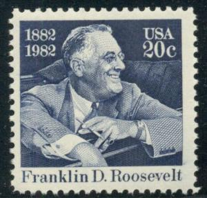 #1950 20¢ ROOSEVELT, FDR LOT OF 400 MINT STAMPS, SPICE UP YOUR MAILINGS!